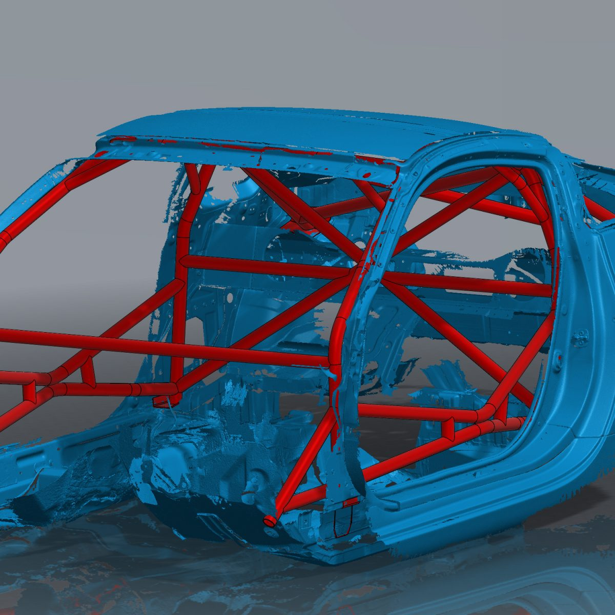350z Roll cage