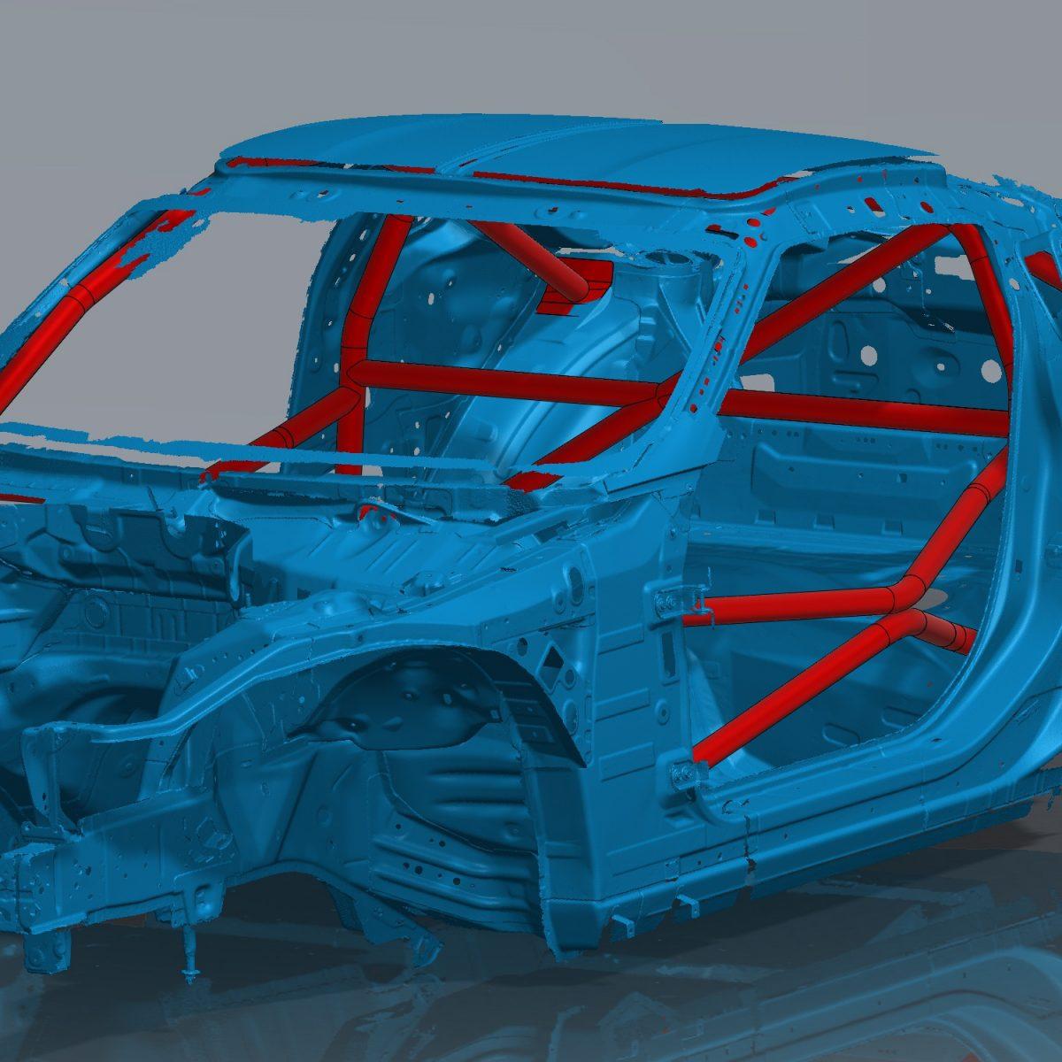 370Z Bare Minimum GTLC Roll cage