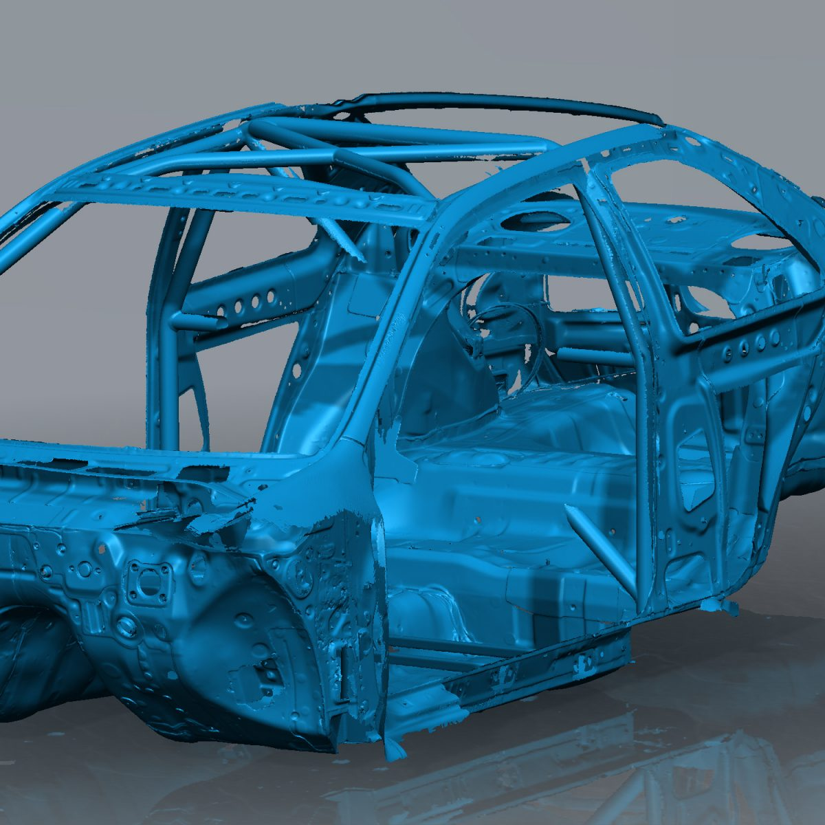 GC8 Subaru Front
