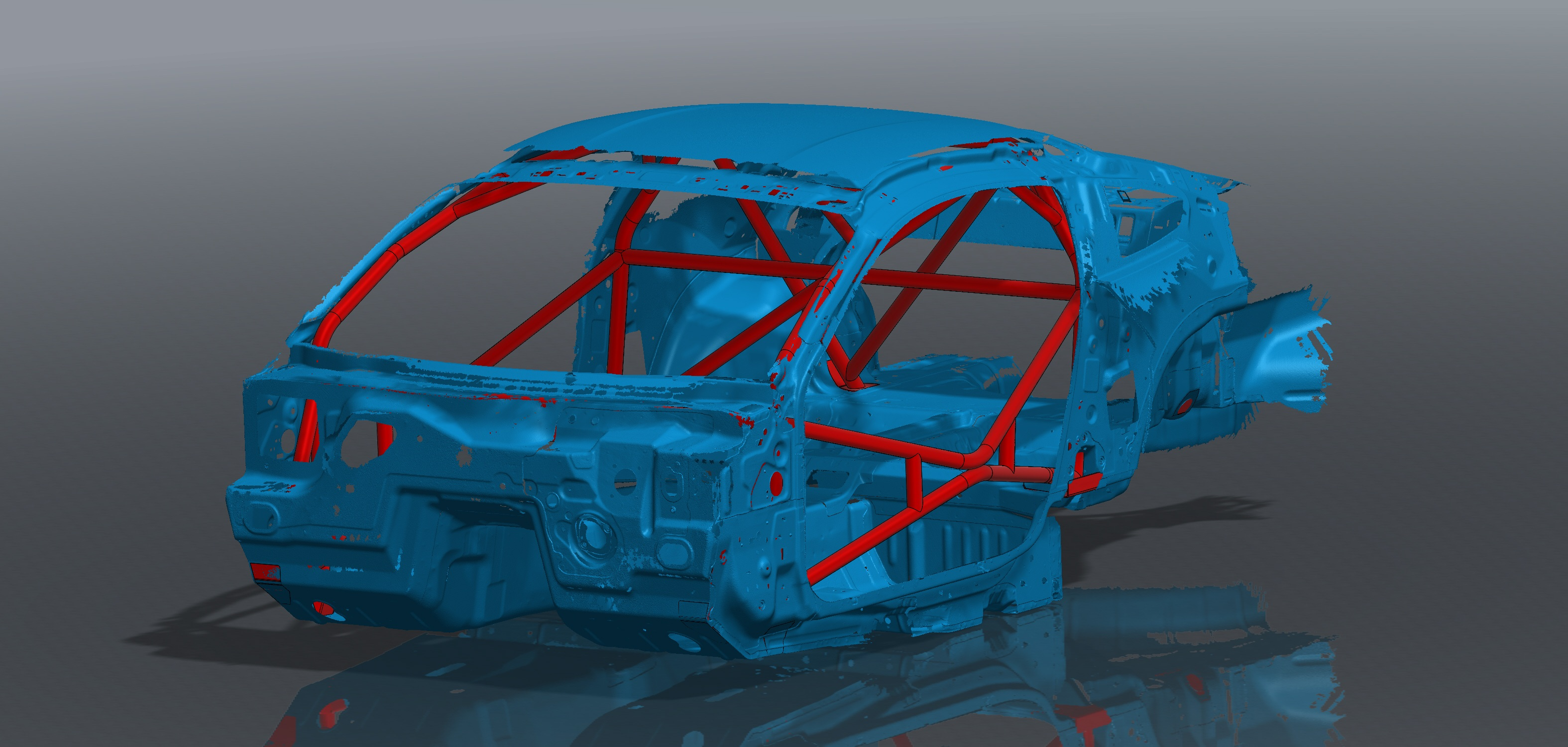 S550 Mustang Roll Cage Kit