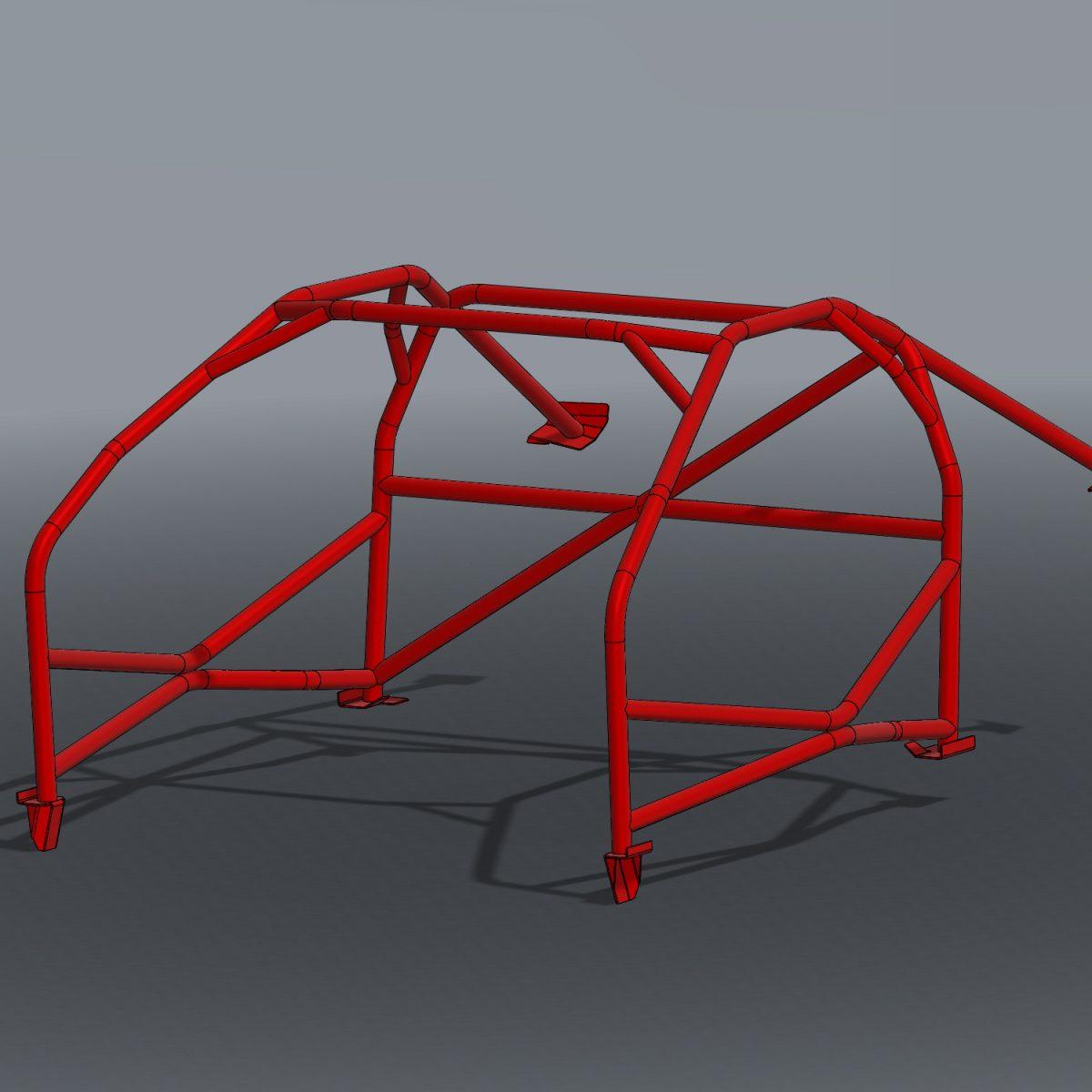 350Z Bare Minimum Roll Cage