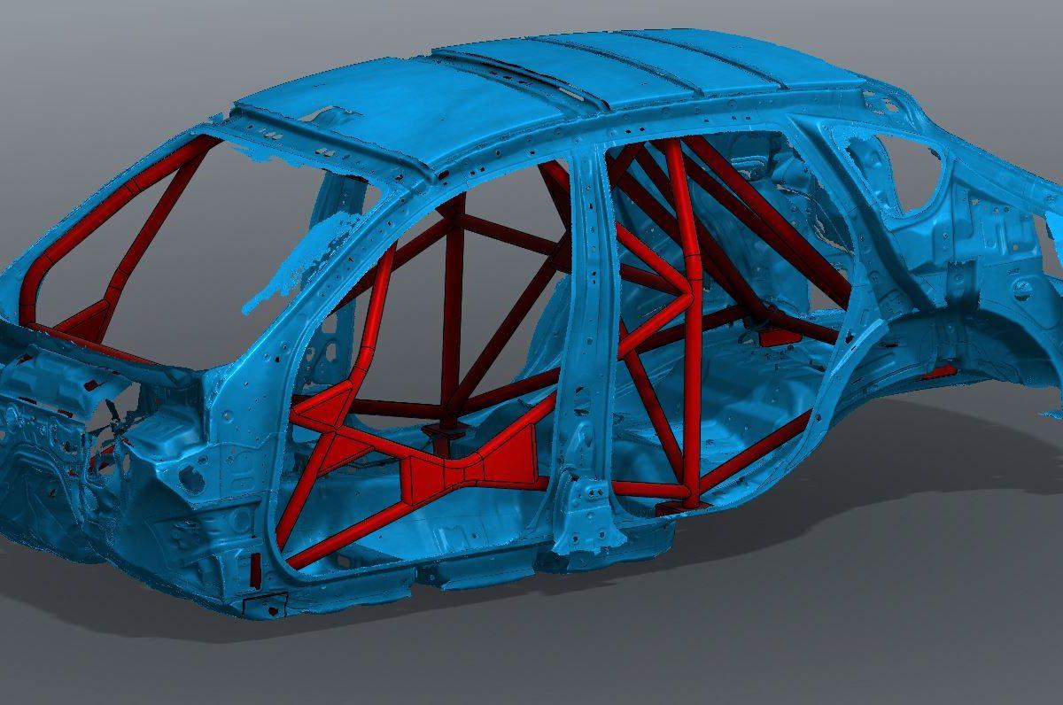 Subaru GR Rally Roll Cage