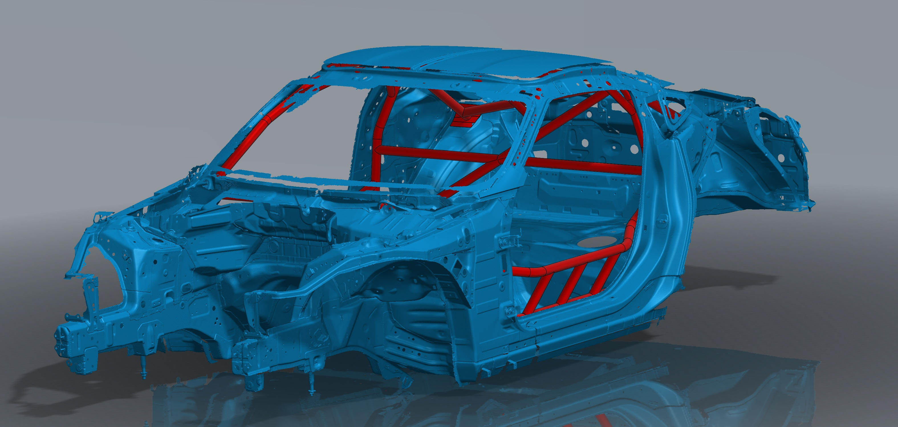 370Z FD Cage Assembly Front