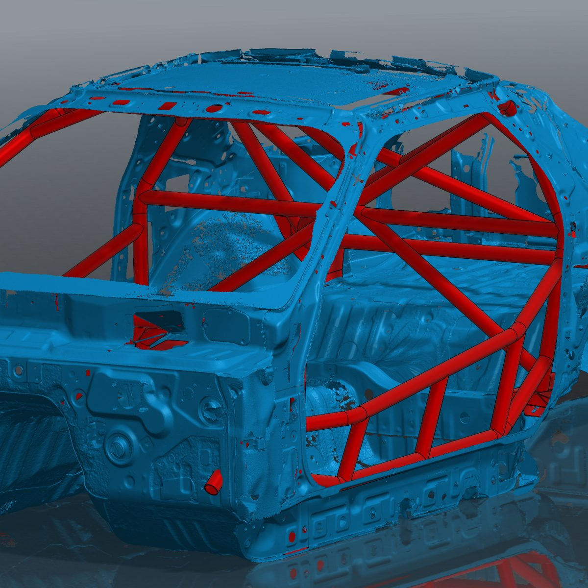 FC RX7 NASCAR Style roll cage