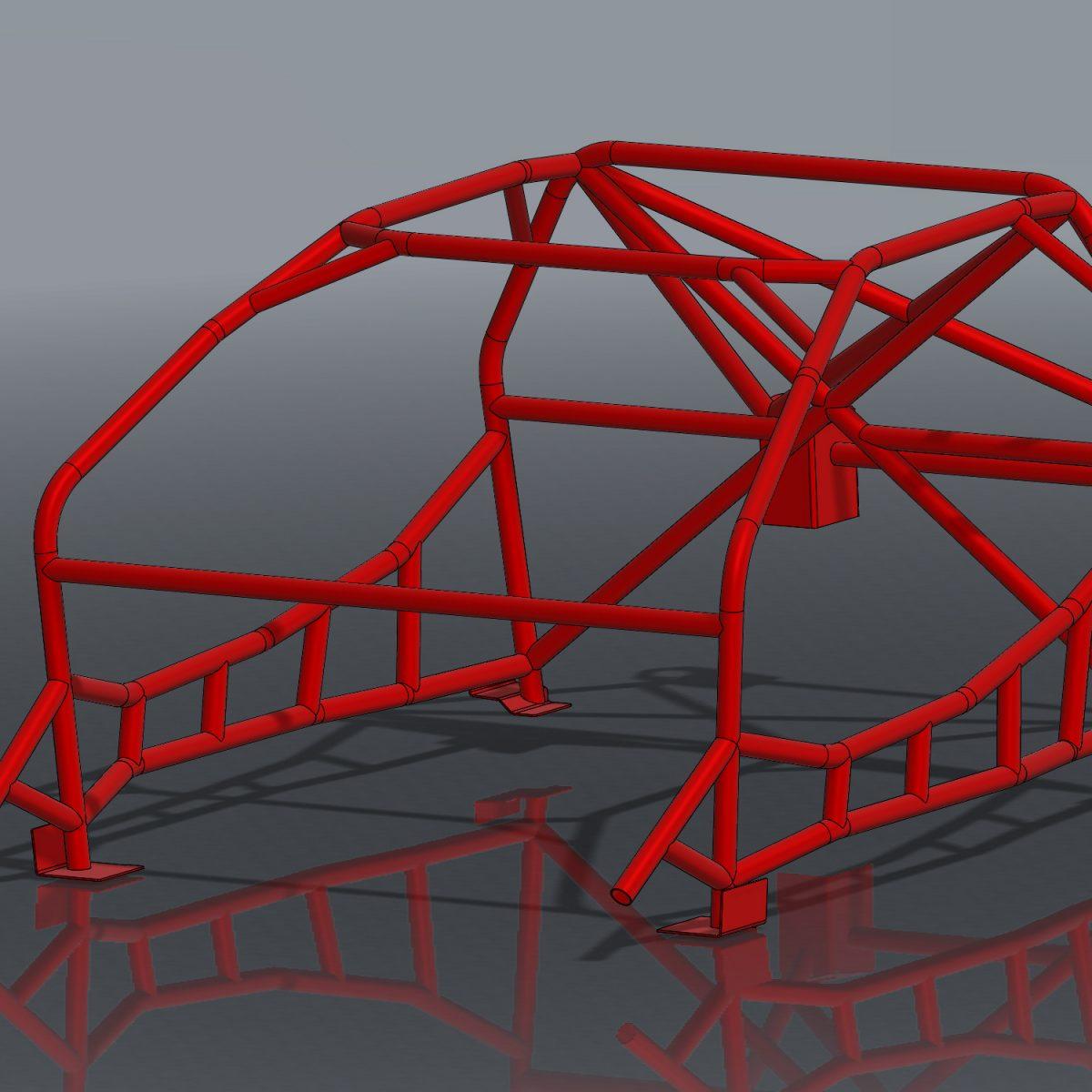 Ultra Tight S13 Slim Ladder Roll Cage Kit