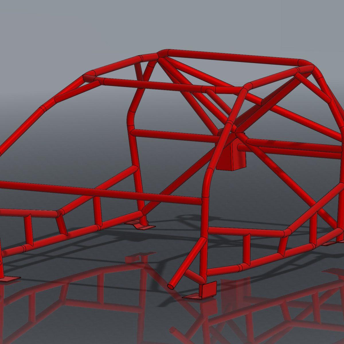 Ultra Tight S13 Formula Drift Roll Cage Kit