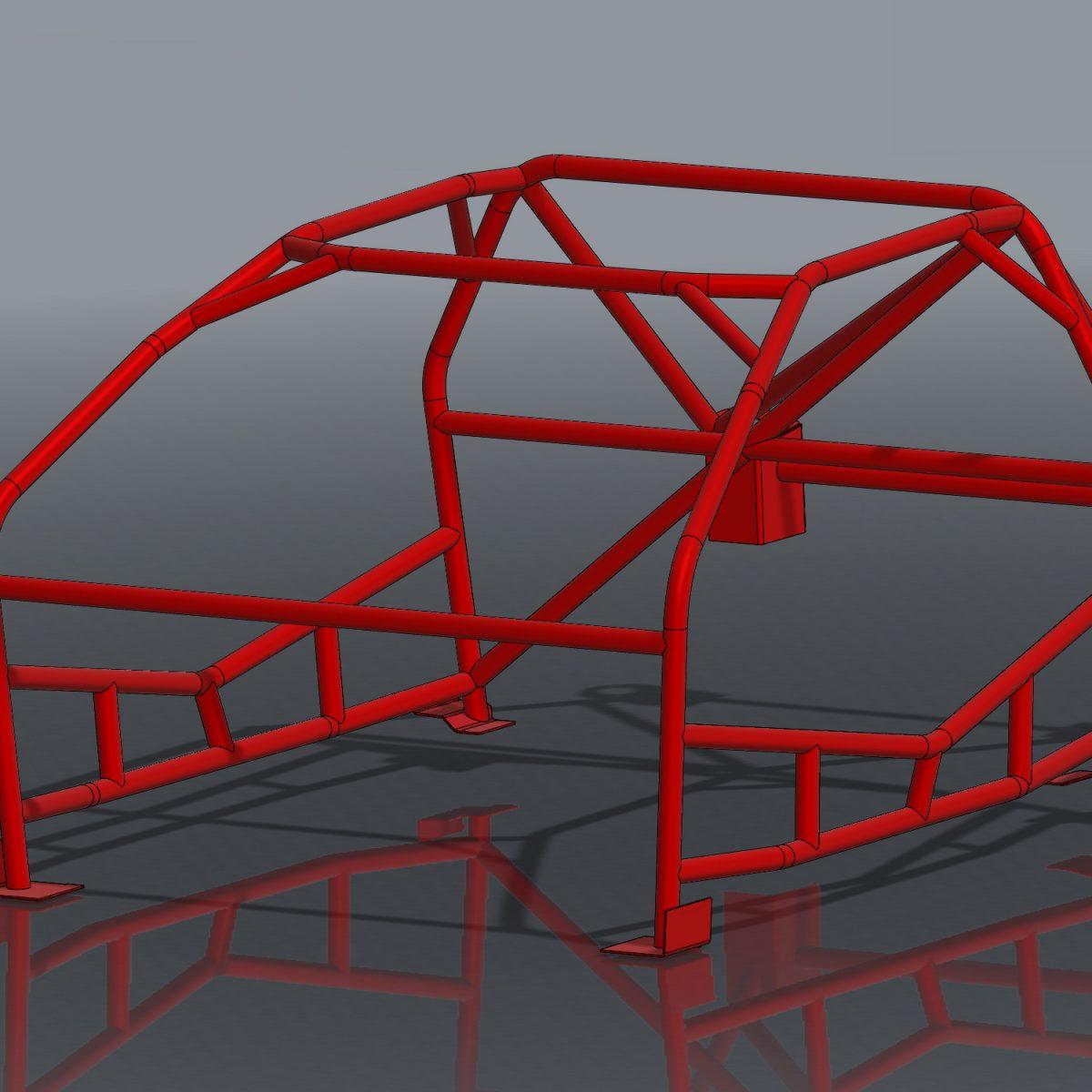 Ultra Tight S13 Bare Minimum Roll Cage Kit